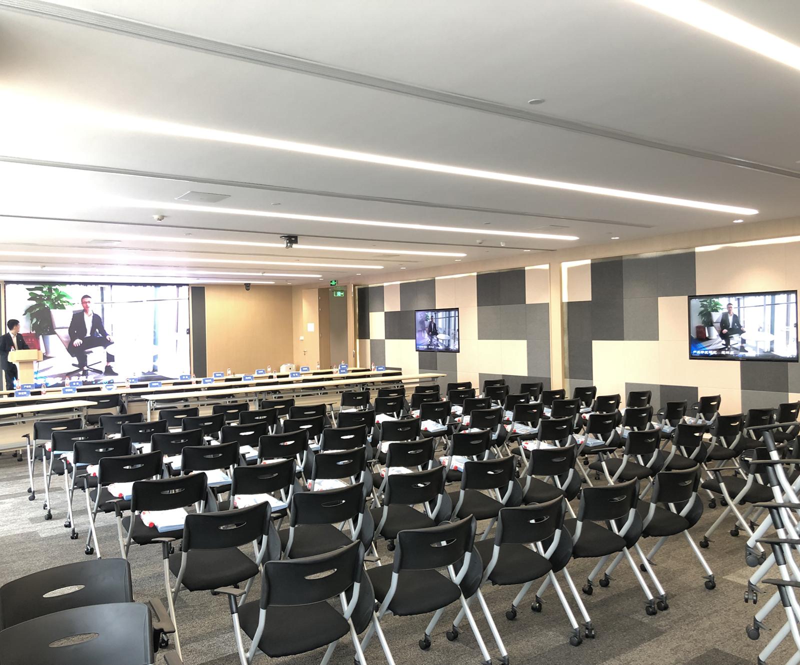 太平金融大厦采用睿观博高清混合矩阵和网传