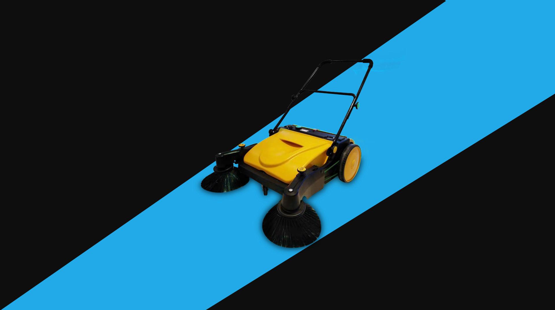 手推式工业用扫地机为什么可以应用于各行各业?