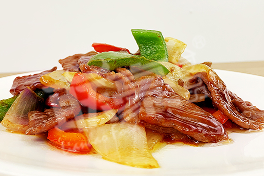 黑椒牛肉片