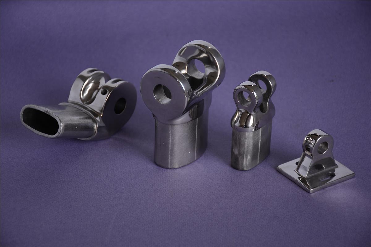 連接件/鏡面拋光-不銹鋼精密鑄造-無錫阿爾法精密機械制造有限公司-AFC