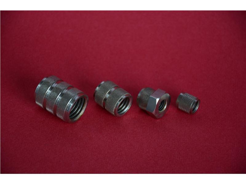 滾花螺母-無錫阿爾法精密機械制造有限公司-不銹鋼精密鑄造-精密加工-AFC