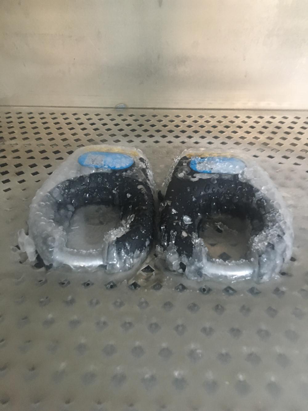 结冰冻雨测试
