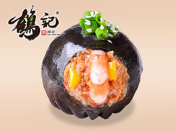 火辣虾蟹生煎