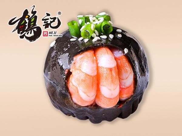 鲜汁虾仁生煎