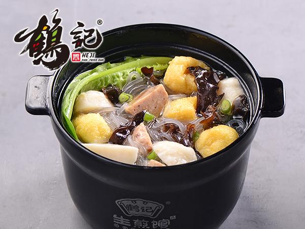 贡丸鱼丸粉丝汤