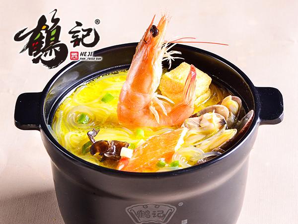 盛宴海鲜粉丝汤