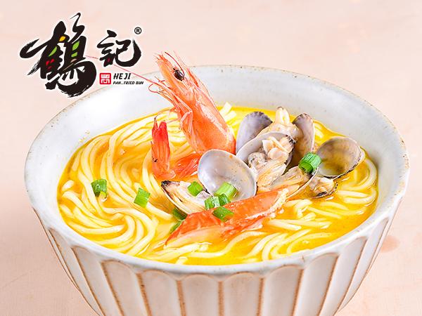 饕餮海鲜汤面