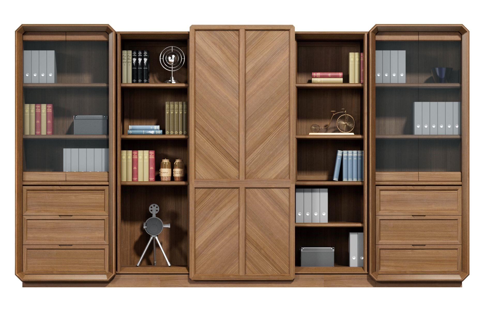 唯艺系列纯实木文件柜