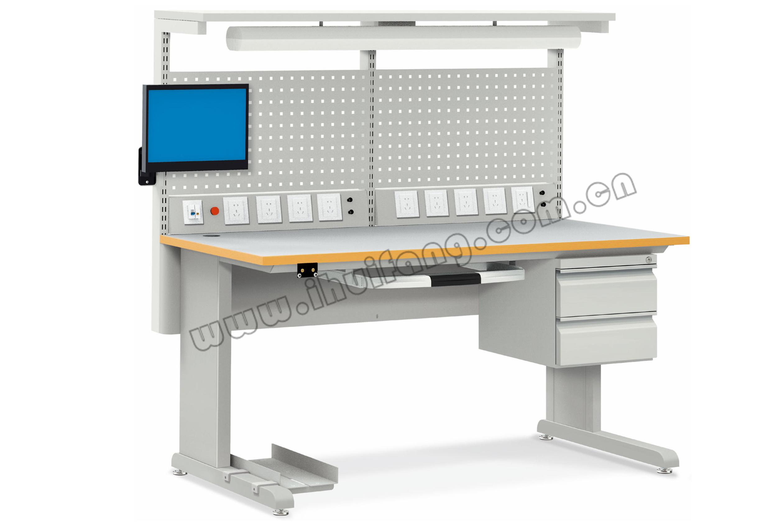 固定式防静电双层测试台WHF-W-10