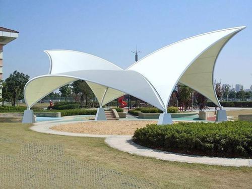 公园膜结构张拉棚