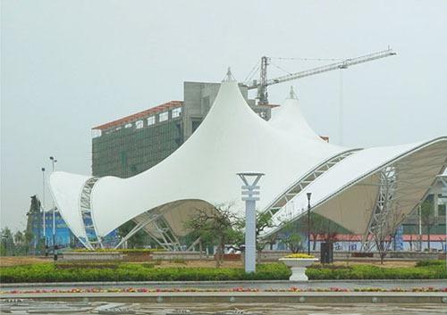 城市景观膜结构张拉棚