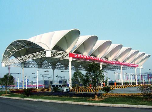 交通收费站棚膜结构