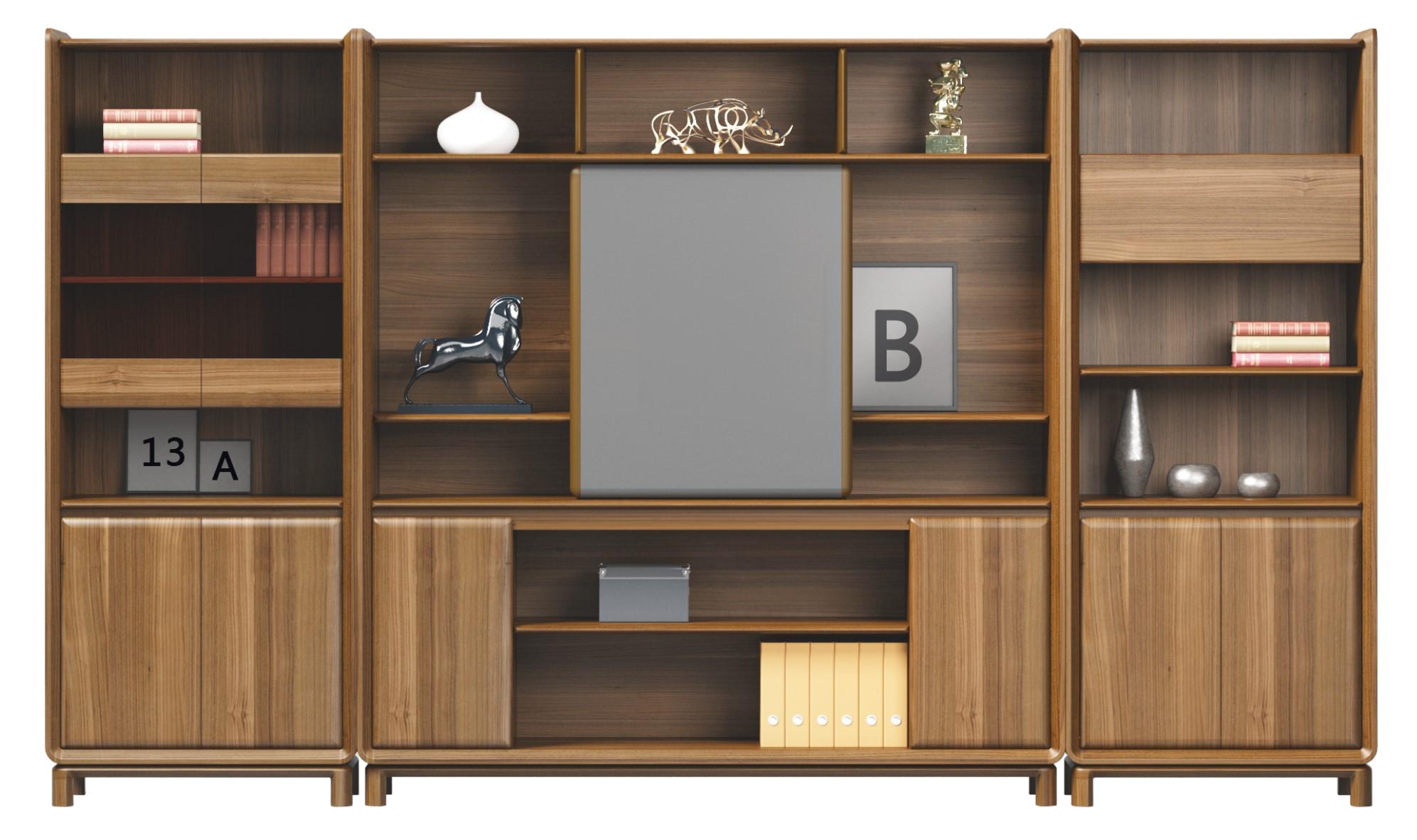 里尼系列纯实木文件柜