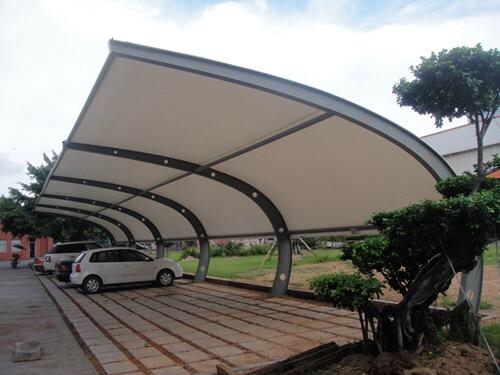 武汉工厂汽车膜结构停车棚
