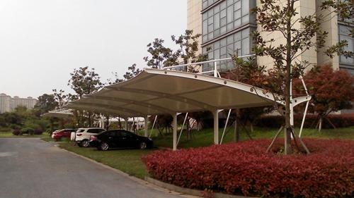 武汉小区膜结构停车棚