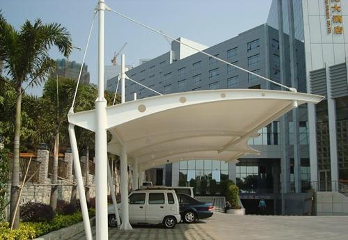 武汉小型膜结构停车棚