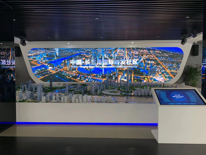 苏州市长三角国际研发社区展示中心采用网络传输延长器