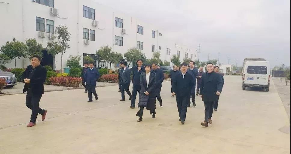 省市场监管局局长唐远游调研央厨产业园,对无明矾土豆粉给予高度赞扬!