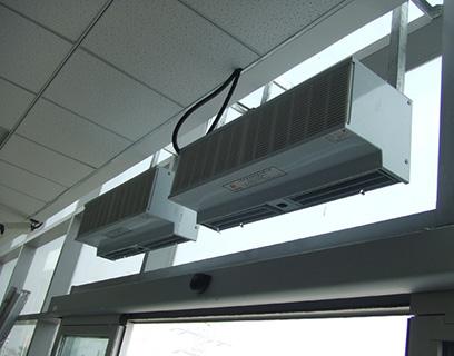 风幕机安装实例