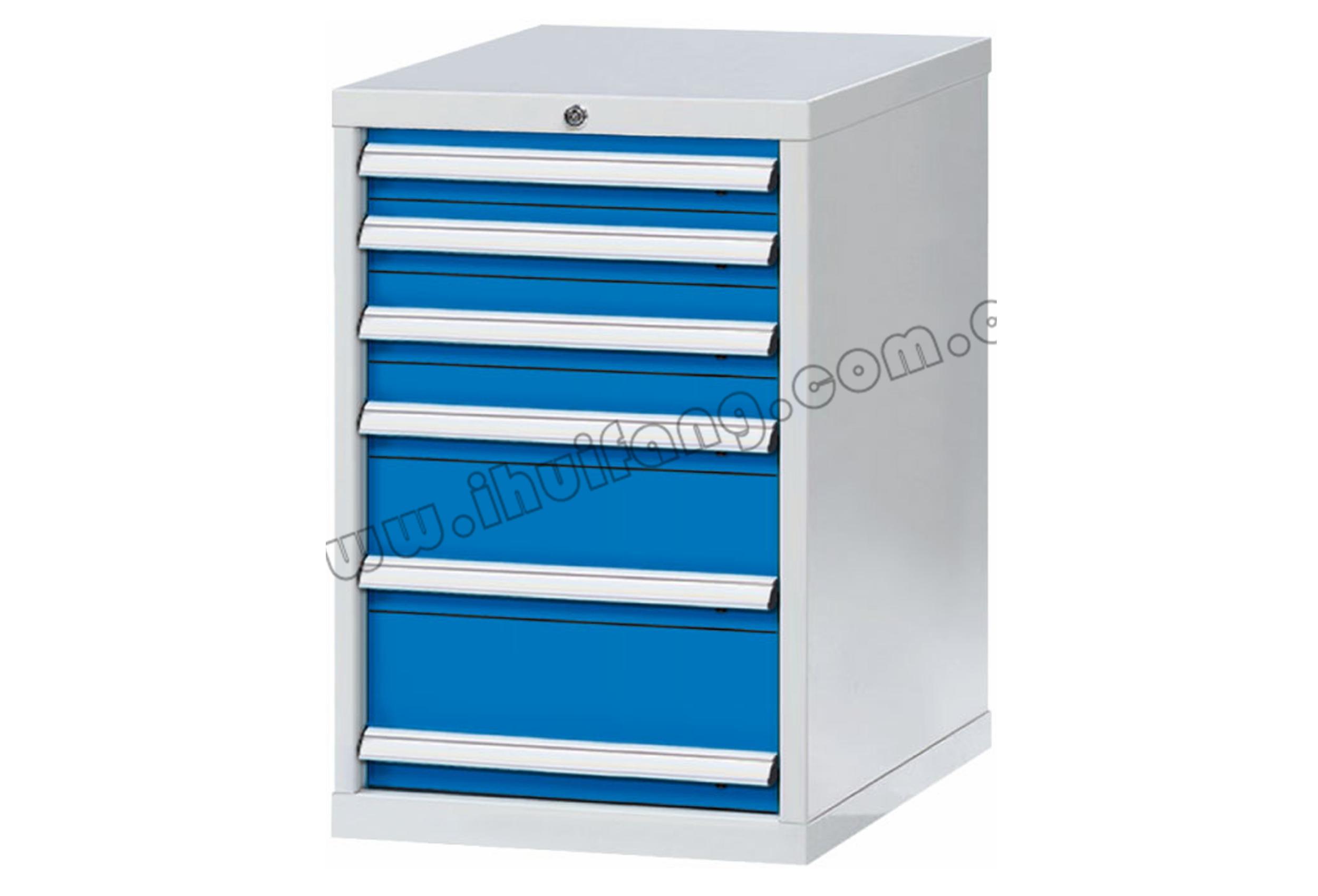 标准重型工具柜6抽HF0DE40-HF0DF40