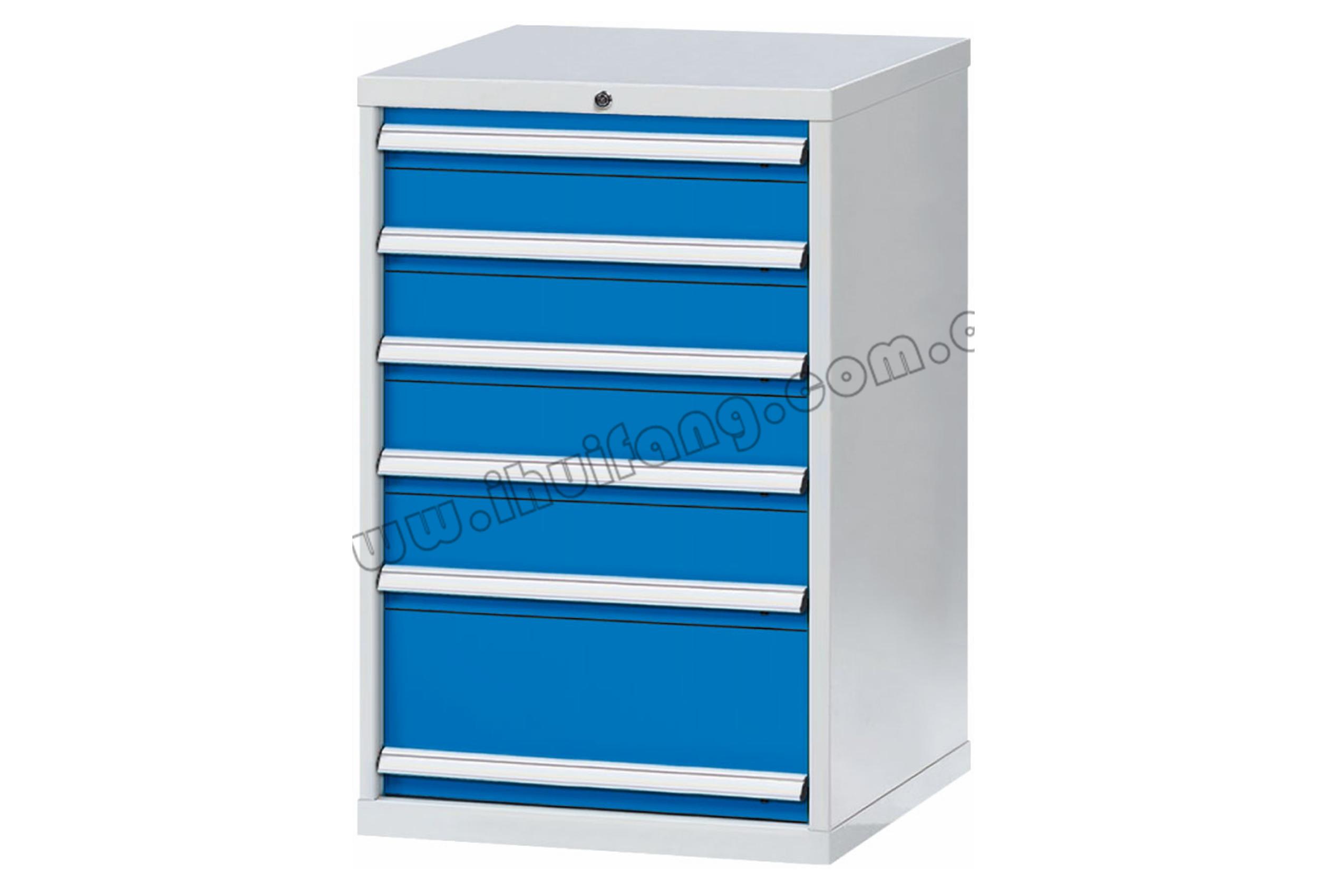 标准重型工具柜6抽HF0DK53-HF0DL53