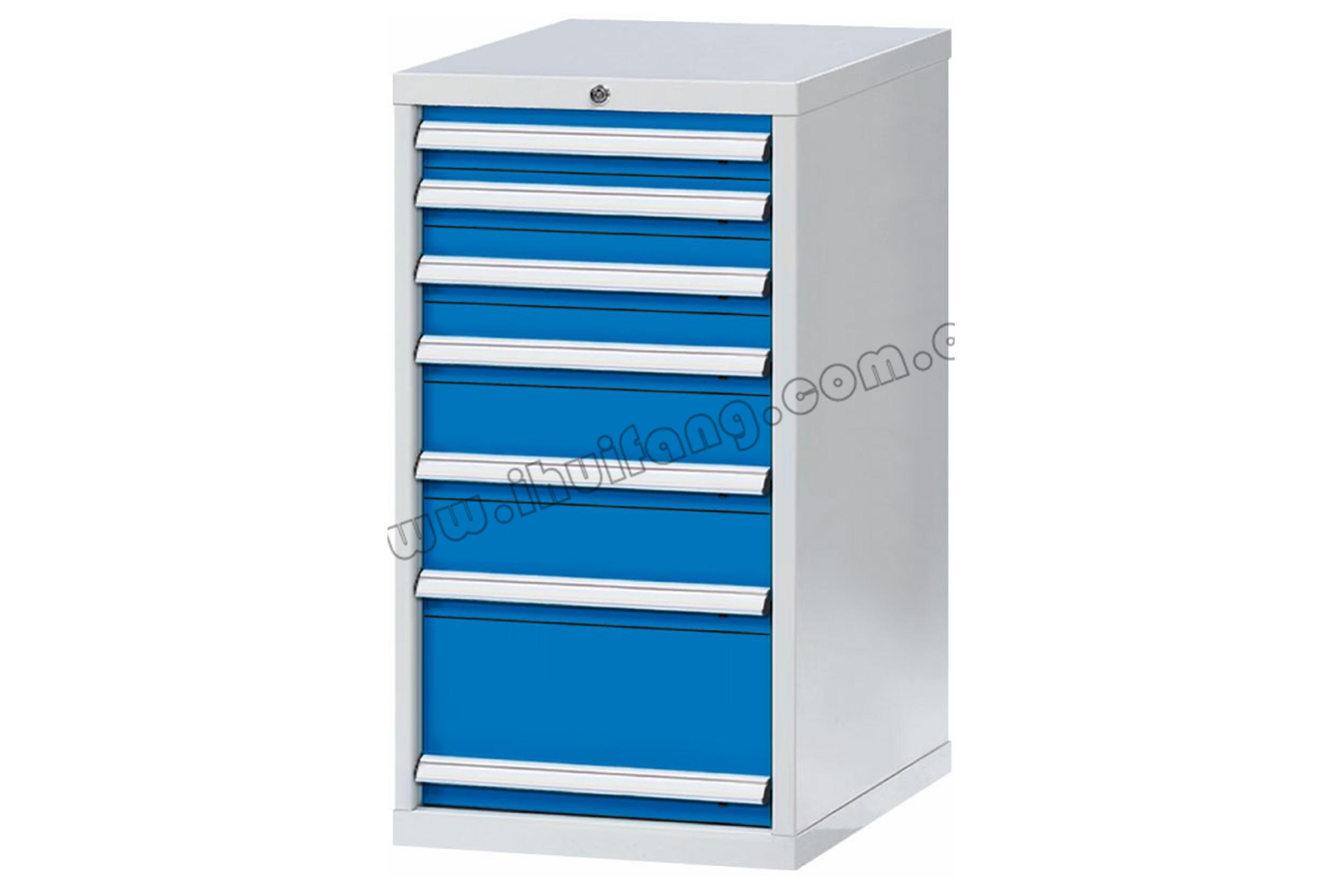标准重型工具柜7抽HF0DE52-HF0DF52