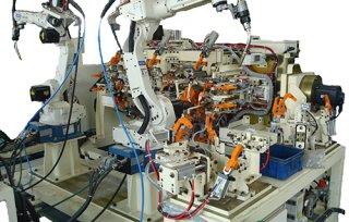 机器人弧焊工作站