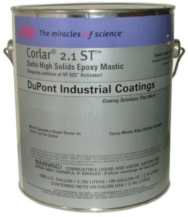 Corlar2.1st缎光高固环氧涂料