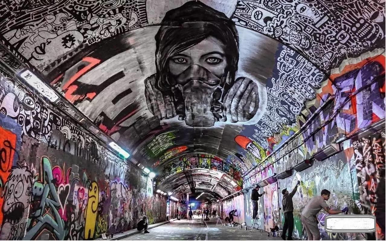 持凡涂鸦墙之伦敦东区涂鸦赏析