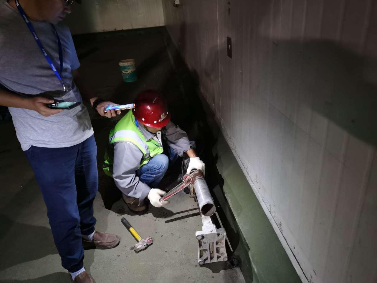 房屋检测站成功完成嘉定物流公司-地坪构造检测与抗震鉴定