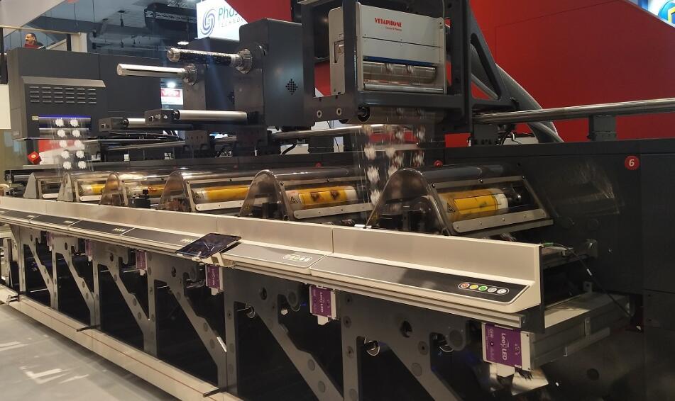 GEW UV系统在纽博泰(NILPETER)柔版机上的应用实例