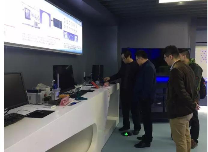 上海蒸汽流量计量站人员考察交流