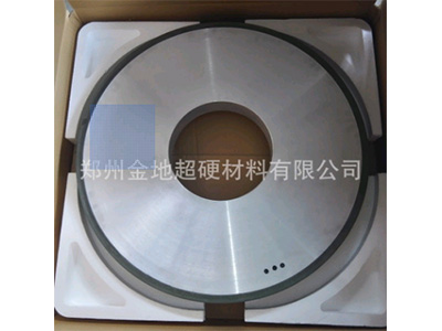 厂家定做超大特大加大金刚石树脂平行砂轮 外径850内孔305二