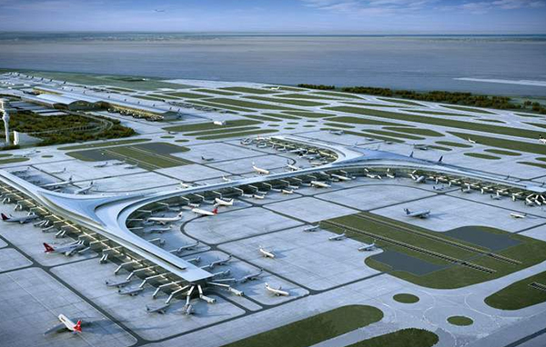 上海浦东机场三期新建项目
