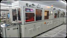 机器人产线激光焊接段