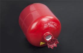 贮压式悬挂超细干粉对热辐射的冷却作用