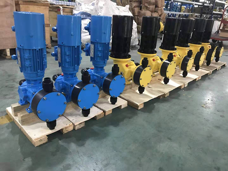 隔膜计量泵适用哪些场合
