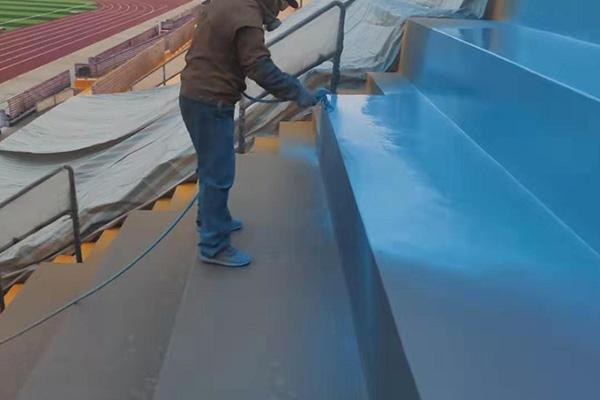 体育场看台施工