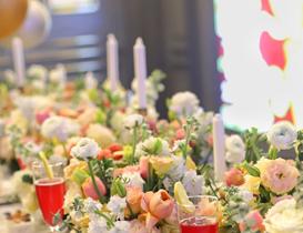 餐桌花艺展示