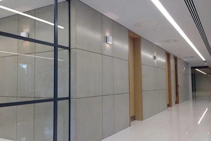 办公室设计中水泥板的应用!