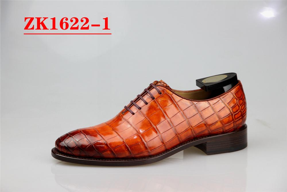 鳄鱼皮鞋定制