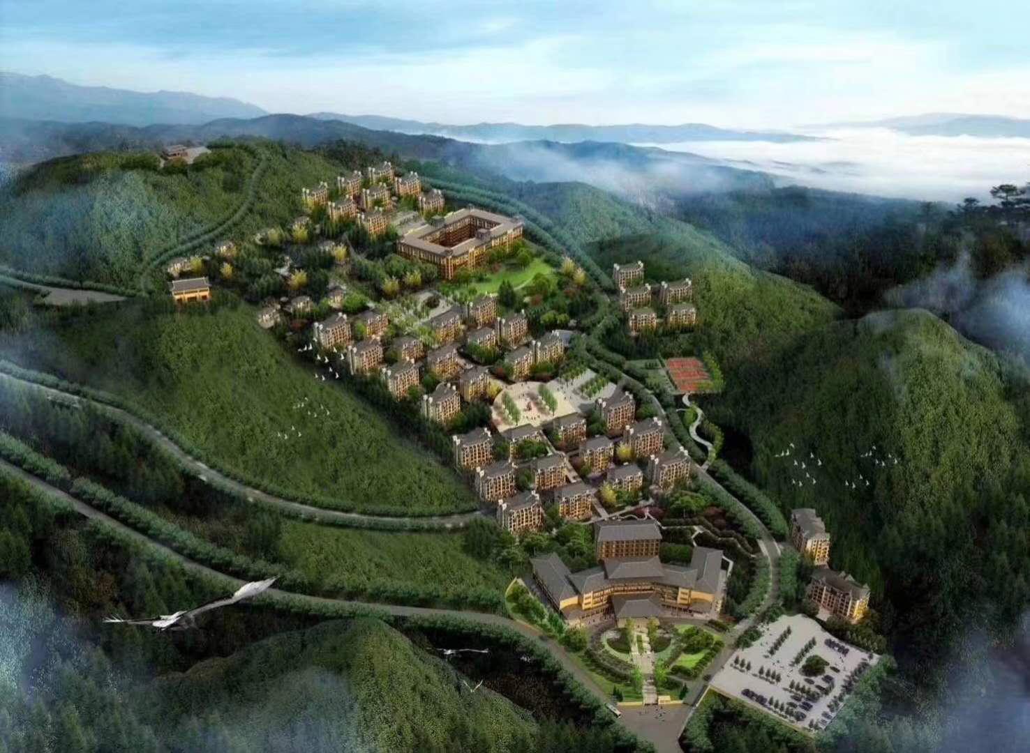 利川齐岳山天境小镇避暑大盘