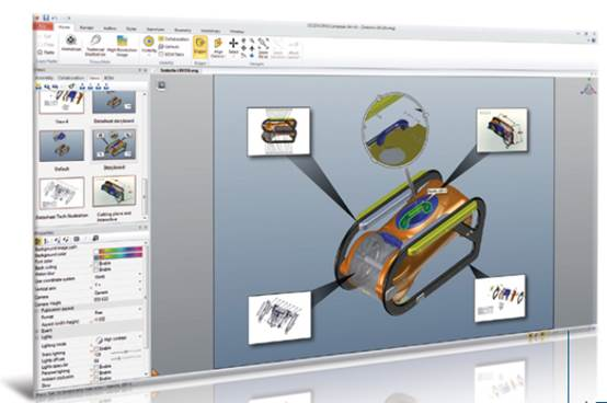 SOLIDWORKS Composer产品文档制作