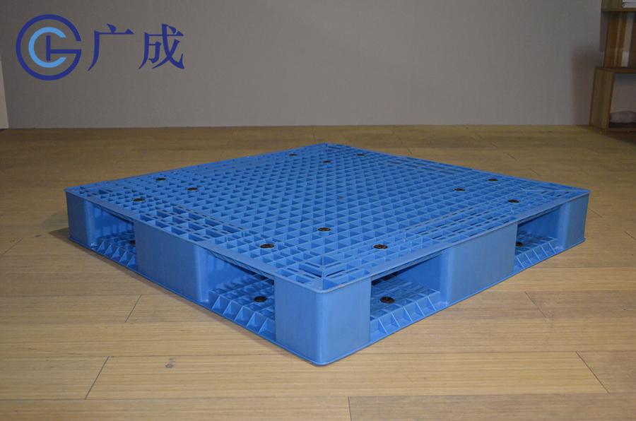 1111網格雙面一體塑料托盤45°角