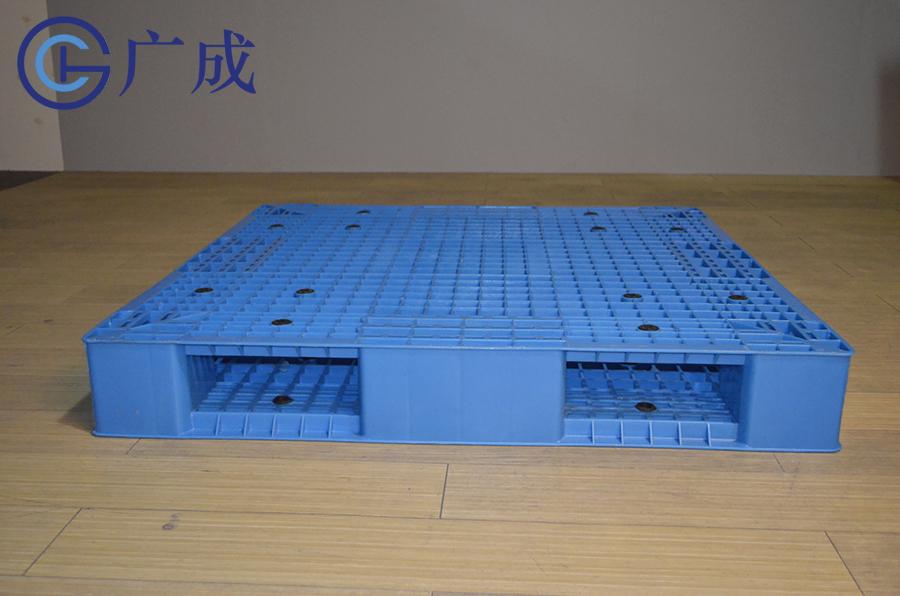 1111網格雙面一體塑料托盤進叉口