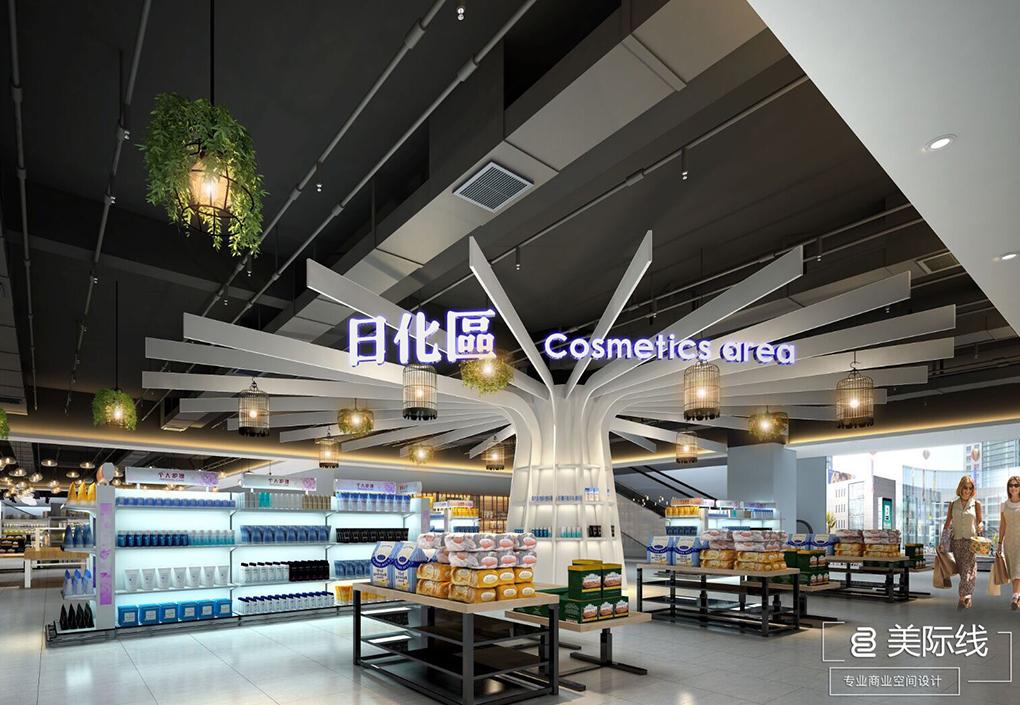 如何对水果超市进行陈列设计!-美际线商业设计有限公司