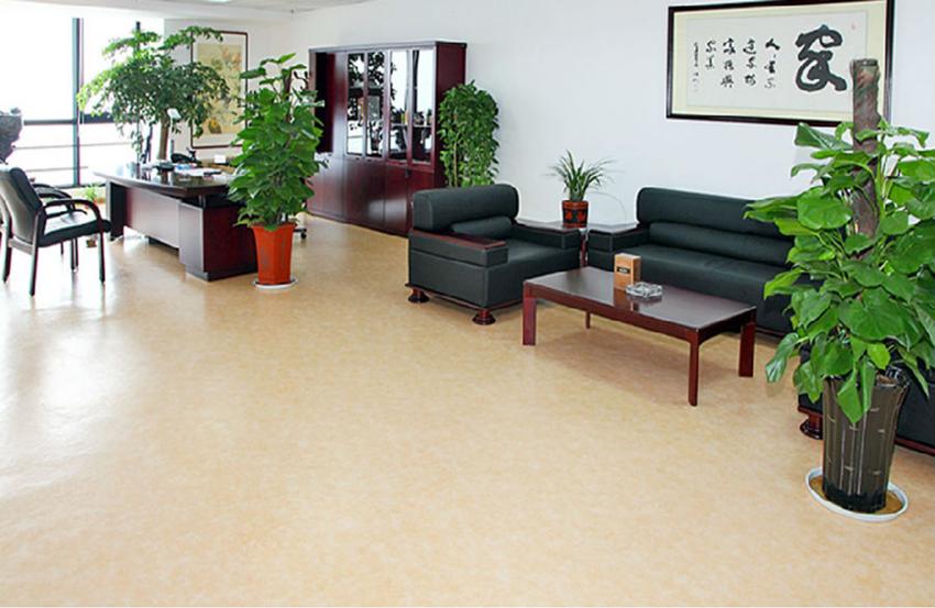 PVC办公地板