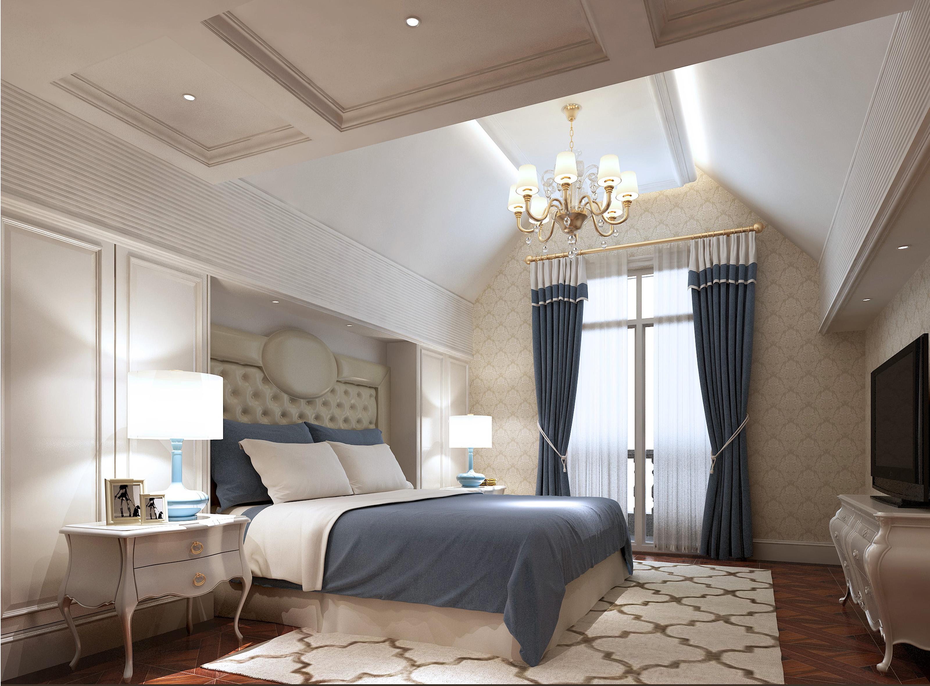 别墅次卧设计