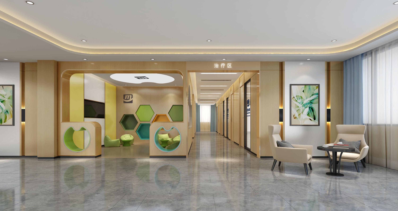 诊所儿童活动区设计