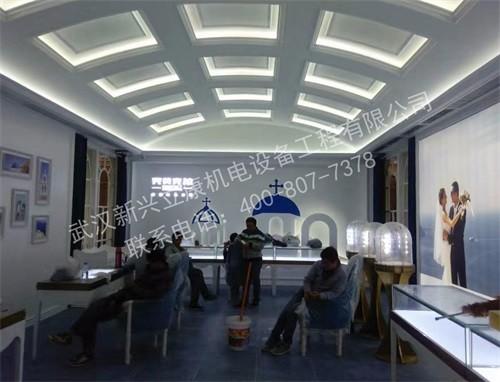 楚河汉街完美克拉中央空调工程项目